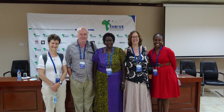 Respiratory medicine, meningitis, mosquitoes... a THRiVE AGM experience!