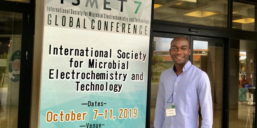 C-A at the International Society of Microbial Electrochemistry & Technology